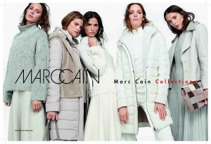 puffa jackets and fake fur jackets from Marc Cain