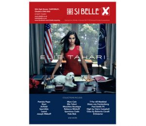 Si Belle advert in December Cheshire Life