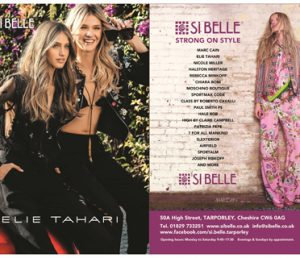 Si Belle advert March 2017 Cheshire Life