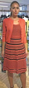 M.Missoni dress and cardigan