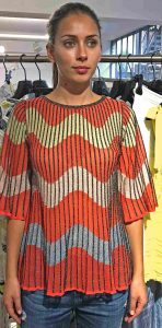 summer top from M.Missoni