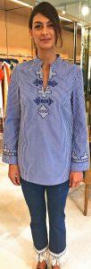 shirt tunic from Tory Burch