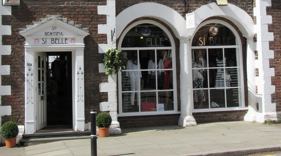 Si Belle womenswear boutique in Tarporley